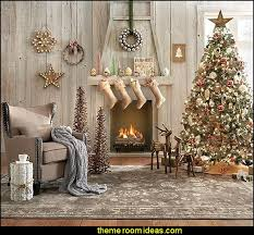 Rustic Living Rooms Christmas Decorating Ideas