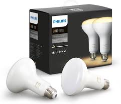 philips hue br30 white ambiance bulbs two pack of second
