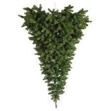 Target Artificial Christmas Trees Unlit by 6ft Unlit American Upside Down Artificial Christmas Tree Full Target