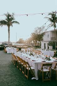 Outdoor Garden Lawn Wedding Reception Decor, Long Feasting Table ...