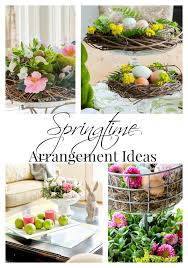 6 Simple Spring Centerpieces