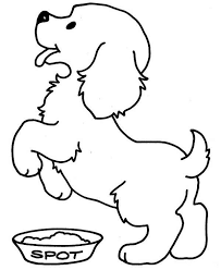 Puppy Coloring Pages Php Cool Free Printable
