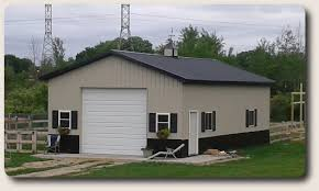 Pole Barn Garage Kits Custom Garage Construction Nationwide