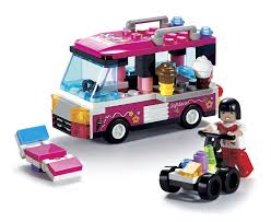 100 Toy Ice Cream Truck Amazoncom BRICTEK Childrens Imagine Interlocking