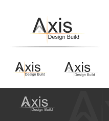 100 Axis Design Modern Professional Construction Company Logo For