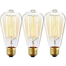 fashioned light bulbs vintage 100 watt filament reproduction
