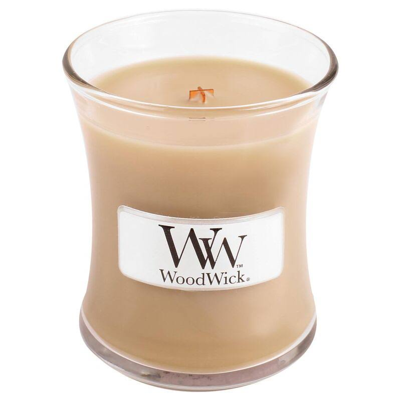Woodwick 98250 At The Beach Candle - Beige, 3oz