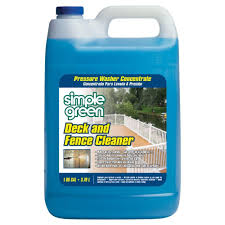 simple green 128 oz deck and fence cleaner pressure washer