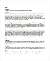 Commercial Real Estate Banking Resume