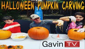 Elmo Halloween Stencil by Halloween Pumpkin Carving With Gavin Tv Owl Scary Pumpkin And