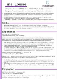 Finance Resume Examples 2016 Feat Sample Resumes For Experienced To Produce Astonishing