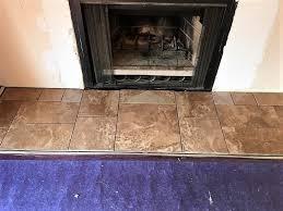 fireplace mantels slate wood tile in tukwilla des