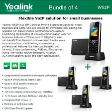 Yealink W52P 4-Pack SIP Cordless Phone IP DECT Phone Handset Base Unit Yealink Sipt41p Bundle Of 6 Gigabit Color Ip Phone How Does Voip Work The Ultimate Guide To More Infiniti Providers Foehn Webinar Easy Mit Telefonen Youtube Tarife Easyvoip Easyvoipcom Supported Phones Smartofficeusa Voip Condies Tech Zoiper An To Use Client For Linux Dect W52p Sip Cordless Up 5 Accounts Poe Panasonic Intercom Door Entry Basic System Nonvoip Lines Easyvoip Save On Mobile Calls Android Apps Google Play