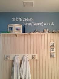 Beach Hut Themed Bathroom Accessories beach themed bathroom 3 4 of wall covered with bead board