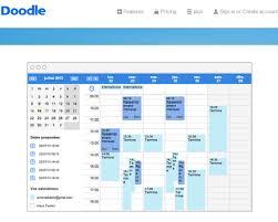 bureau en gros agenda agenda partagé sur doodle doodle