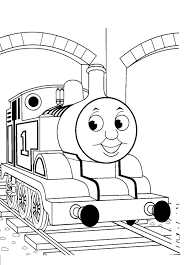 Thomas The Train Coloring Page Free Printable Pages For Kids Download