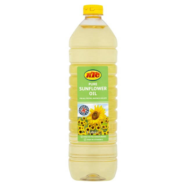Ktc Pure Sunflower Oil - 1L