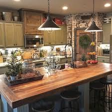 Rustic Farmhouse Kitchen Decorating Ideas
