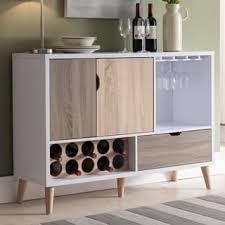 Furniture Of America Beler Mid Century Modern Multi Colored Storage Buffet