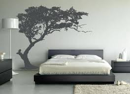 Tree Wall Decor With Pictures by Bedroom Lightning Up Vibrant Wall By Applying Bedroom Wall