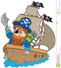 100 Design A Pirate Ship Sailing On Ship Stock Vector Illustration Of Design