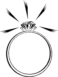 Wedding ring wedding and engagement clipart free graphics 4 3