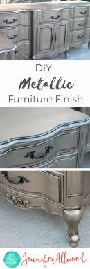 320 best Metallic Painted Furniture images on Pinterest