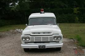 1959 FORD F100 Panel Truck RARE Here And In The States