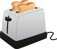 Toaster And Slices Of Toast