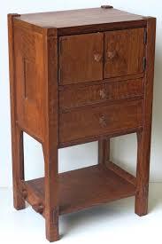 Gustav Stickley C1901 Oak Work Cabinet From Estate GustavStickley Furniture StylesFurniture DesignFurniture ProjectsGustav StickleyCraftsman