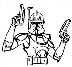 Coloring Pages Star Wars Wonderful Captain Rex Colouring Pagesstar Disney