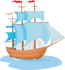 Ship clip art clipart image clipartcow