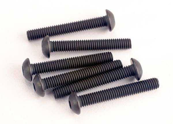 Traxxas Button Head Screws - 3mm X 20mm