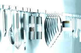 ustensiles cuisine inox barre support cuisine support ustensiles cuisine inox barre