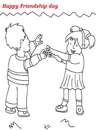 Online Friendship Coloring Pages 66 With Additional For Adults