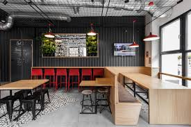 100 Shipping Containers Converted Modelina Designs Shipping Containerlike Burger Cafe In Poland