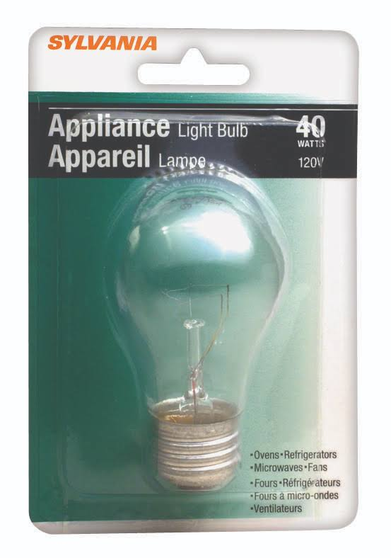 Sylvania Appliance Light Bulb - 40W