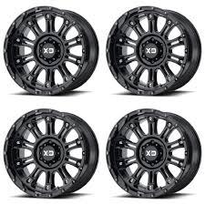 100 Xd Truck Wheels Set 4 20 XD Series XD829 Hoss 2 Black 20x10 5x150 24mm
