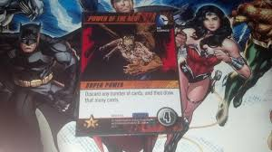 six new heroes any guesses dc comics deck building game