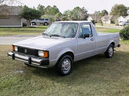 100 Rabbit Truck 1981 VW Pickup 16L Diesel 5SPD Manual Reliable 4550 MPG