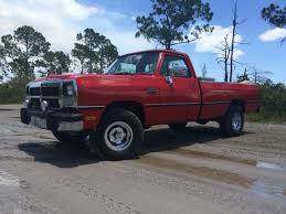 100 1993 Dodge Truck W150 Almost Completed With The Rebuild On It Old