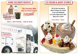 Oberweis Dairy makes home deliveries just not to me in my Indiana