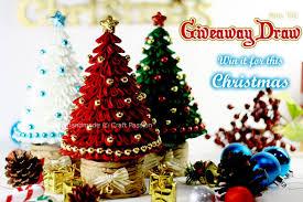 Giveaway Nov Kanzashi Christmas Tree