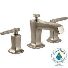 Glacier Bay Bathroom Faucets Instructions by Glacier Bay Lyndhurst 8 In Widespread 2 Handle High Arc Bathroom