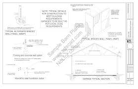 12x20 Shed Plans With Porch by Custom 24 U0027 X 36 U0027 2 Story Barn Plans Blueprints Construction