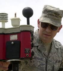 what is a bulb globe temperature vance air base