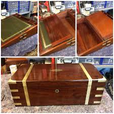 table handsome antique wood lap desk like jane austen used a must