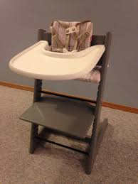 Stokke Tripp Trapp High Chair Complete With Baby Set (Storm Grey) -  Hawkwood NW Costway Baby Toddler Wooden Highchair Ding Chair Adjustable Height W Removeable Tray Keekaroo Right High With Mahogany Free With Comfort Cushion Set Aqua Discontinued By Manufacturer Tripp Trapp Adult Stokke White 2001 Duratilt Ltinspace Shower Chair Adult 30et046 Pin Eli Peralta On Muebles Infantiles In 2019 Outdoor Asunflower Feeding Highchairs Solution For Babyinfantstoddlers Trappchair Bundle Steps Leander One Arcane Road