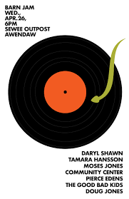Barn Jam Wed Apr 26 6pm | Gil Shuler Graphic Design Barn Jam Wed July 13 6pm Gil Shuler Graphic Design Jan 24 Feb 8 Apr 27 Aug 3 Barnjam2310 The Big Red Barn Jam April 19 Jan18 Oct At Awendaw Swee Outpost Charleston Events Pinterest David Gilmour Richard Wright Youtube