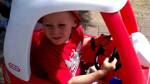 100 Truck Cozy Coupe Little Tikes FIRE TRUCK YouTube